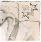 Givenchy cobra print scarf