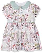 Mamas and Papas Baby Girls' Print Shirt DRS Dress,9-12 Months
