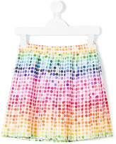 Paul Smith button print skirt