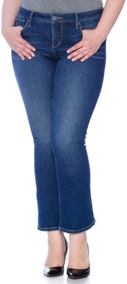 SLINK Jeans High Rise Flare Jeans