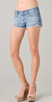 Ag adriano goldschmied Daisy Super Low Rise Denim Shorts