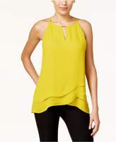 Thalia Sodi Layered-Look Halter Top, Created for Macy's