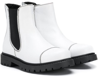 Marni two-toned ankle boots