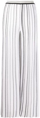Missoni high waisted pleated trousers