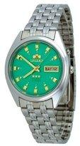 Orient #FEM0401NN Men's Tri Star Green Dial Standard Self Winding Automatic Watch