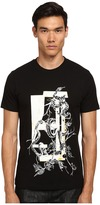 McQ by Alexander McQueen Short Sleeve Screen Printed Crew Neck T-Shirt