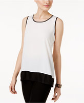 Cable & Gauge Contrast-Trim Tank Top