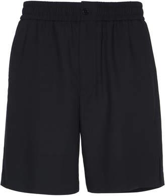 Ami Wool Bermuda Shorts