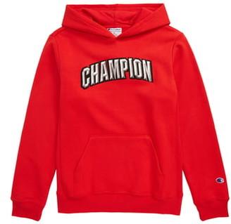 Champion Varsity Logo Patch Hoodie