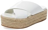 Miu Miu Platform Espadrille Sandal