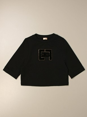 Elisabetta Franchi Sweater With Logo