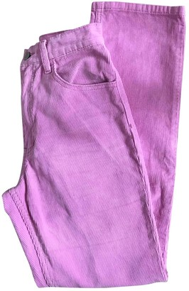 Non Signã© / Unsigned Pink Cotton Trousers