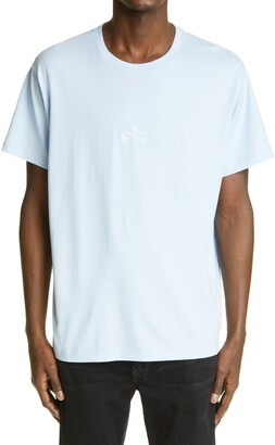 Givenchy Refracted Logo Embroidered Men's T-Shirt