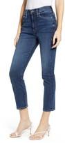 Edwin Elin High Waist Crop Slim Jeans