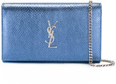 Saint Laurent Monogram chain wallet - women - Calf Leather - One Size