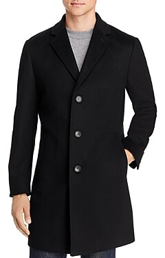 HUGO BOSS The Stratus Wool & Cashmere Classic Fit Topcoat
