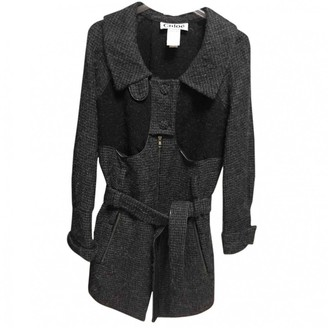 Chloé Grey Wool Coat for Women Vintage