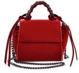 Elena Ghisellini Micro Angel Velvet Shoulder Bag