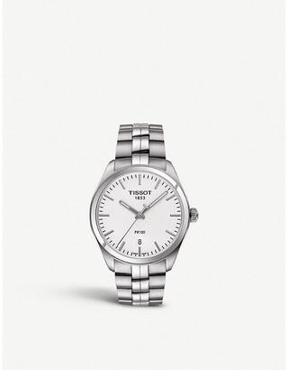 Tissot Mens Silver T101.410.11.031.00 Pr 100 Stainless Steel Watch