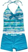 YiZYiF Kids Girls Tankini Bikini 2 Pieces Swimwear Swimming Bathing Suit