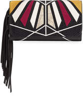Sam Edelman Talia Colorblock Wallet On A String
