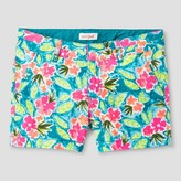 Cat & Jack Girls' Twill Chino Shorts Cat & Jack - Teal