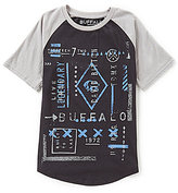 Buffalo David Bitton Big Boys 8-20 Graphic Short-Sleeve Tee