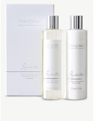 The White Company Seychelles Bath & Body Set