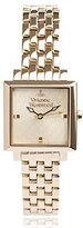 Vivienne Westwood Women's VV087GDGD Exhibitor Gold-Tone Stainless Steel Watch