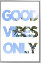 PTM Images Good Vibes Only (Framed Giclee)