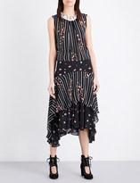 Preen Line Elise chiffon dress