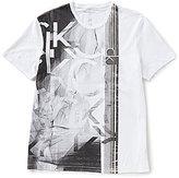 Calvin Klein Jeans CK Mesh Graphic Crew Tee