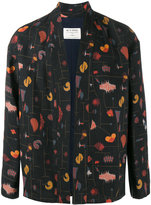 Etro patterned woven kimono jacket - men - Silk/Linen/Flax/Polyamide/Acetate - 46