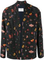 Etro patterned woven kimono jacket - men - Silk/Linen/Flax/Polyamide/Acetate - 48