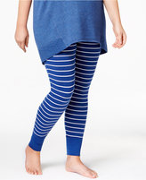 Alfani Plus Size Printed Pajama Leggings, Only at Macy's