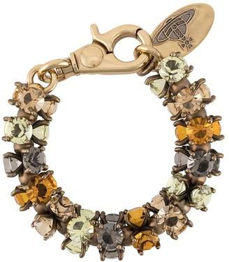 Vivienne Westwood Crystal-Embellished Bracelet