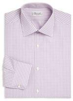 Charvet Regular-Fit Check Cotton Dress Shirt