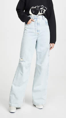 Off-White Off White Oversize Tomboy Pants Bleach White