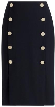 Ralph Lauren Ophelie Wool-Blend Skirt