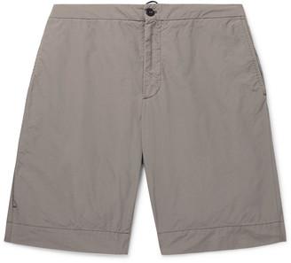 Incotex Reflective Ripstop Drawstring Shorts