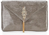 Kate Landry Tasseled Brooch Clutch