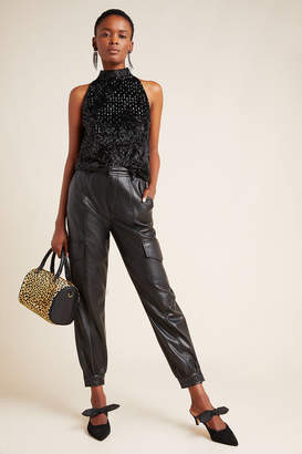 On The Road Priscilla Faux Leather Pants