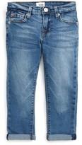 Hudson Toddler Girl's Rolled Crop Jeans