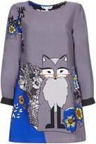 Yumi Floral Wolf Tunic Dress