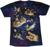 o.d.m. Kitty Cats in Space Galaxy Graphic T-Shirt