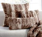 Pottery Barn Faux Fur Pillow Cover - Caramel Ombre