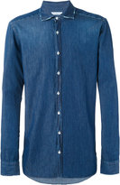 Paolo Pecora denim shirt - men - Cotton - 42
