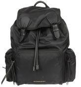 Burberry Logo Plaque Backpack