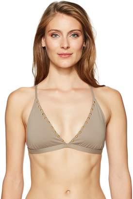 La Blanca Women's Triangle Bra Bikini Swimsuit Top
