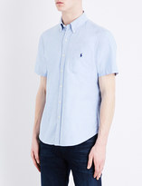 Polo Ralph Lauren Slim-fit short-sleeved cotton shirt
